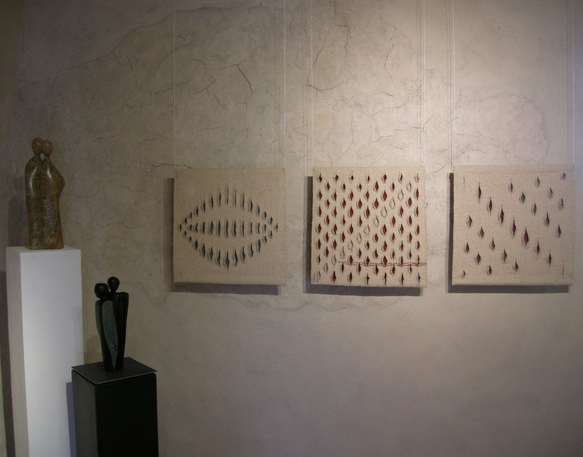 Ausstellung 2013 im Schlossturm Pfäffikon SZ / Schweiz. Skulpturen von Therese Ruch: www.thereseruch.ch